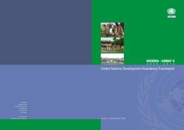 Nigeria - UNDAF COVER FINAL curves for print - UNDP Nigeria ...