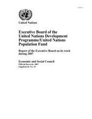 E/2007/35 - UNOPS