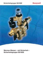 Warmes Wasser – mit Sicherheit – Sicherheitsgruppe SG160S