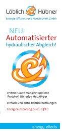 Automatischer hydraulischer Abgleich