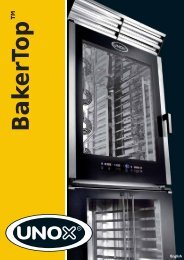 Catalogue BakerTop - Unox
