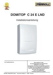 DOMITOP C 24 E LND