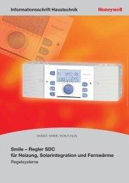 Smile – Regler SDC für Heizung, Solarintegration und Fernwärme