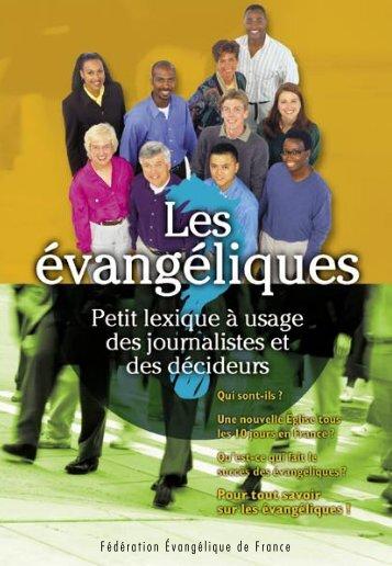 Les évangéliques - Esperez.org