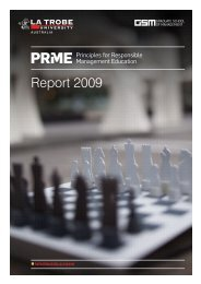 View Report - Principles for Responsible Management Education