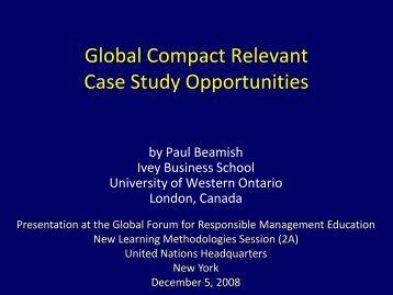 Designing and Managing Strategic Alliances - PRME