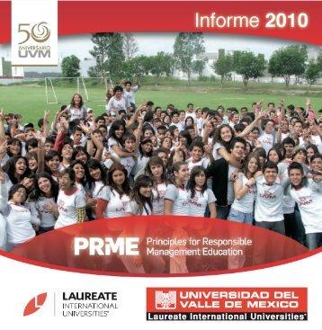 La Universidad del Valle de México - PRME