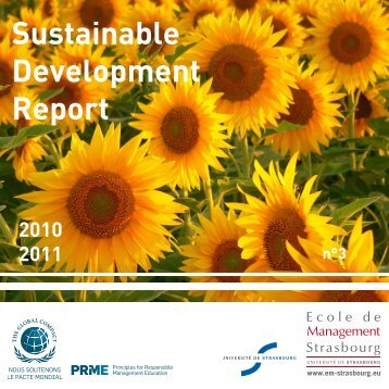 Sustainable Development Report - PRME