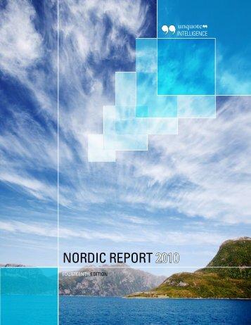 NORdic REpORT 2010 - Unquote