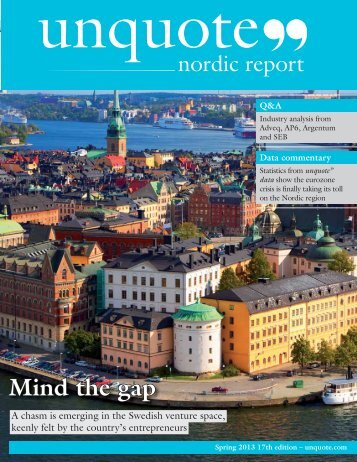to download the 2013 Nordic Report - Unquote