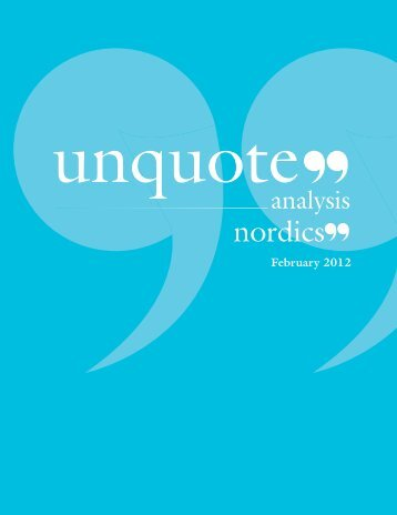 latest digital edition of Nordic unquote