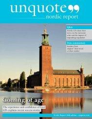 nordic report - Unquote