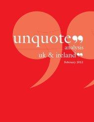 latest digital edition of UK & Ireland unquote