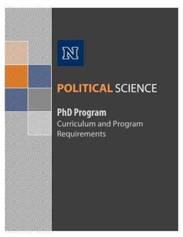 POLITICAL SCIENCE Department - University of Nevada, Reno
