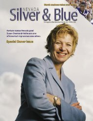 Nevada Silver & Blue: Spring 2005 - University of Nevada, Reno
