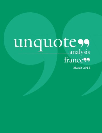 latest digital edition of France unquote