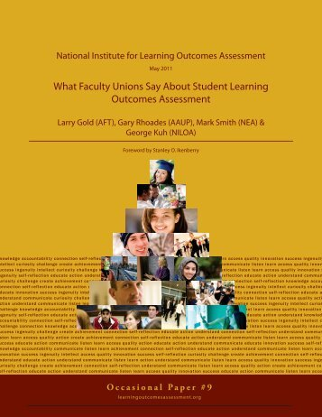 What Faculty Unions Say About Student Learning Outcomes ...