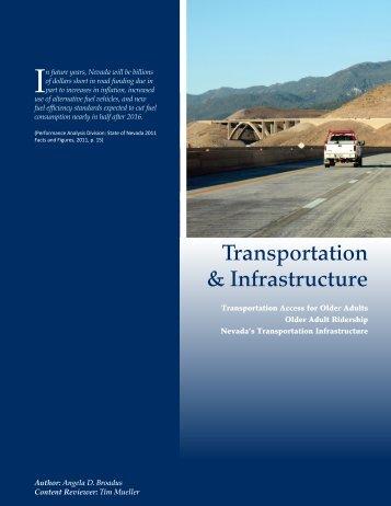 Transportation & Infrastructure - University of Nevada, Reno