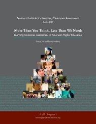 More Than You Think, Less Than We Need: - Units.muohio.edu