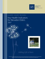 Key Health Indicators For - University of Nevada, Reno