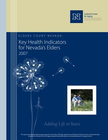Key Health Indicators For - University of Nevada, Reno