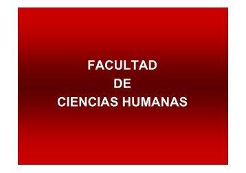 Facultad de Ciencias Humanas - UNRC