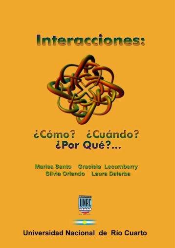 Interacciones - Universidad Nacional de Río Cuarto