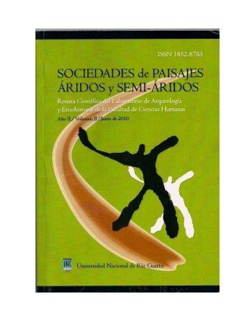 El Desierto Inacabable Y Una Historia Sudamericana. - Universidad ...