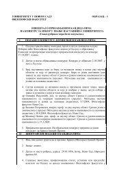 Referat o kandidatu za izbor u zvanje docenta za užu naučnu oblast ...