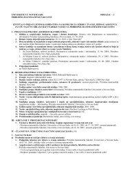 Izveštaj o kandidatu za izbor u zvanje asistenta za užu naučnu ...