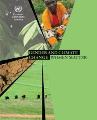 Gender and Climate Change Women Matter - United Nations ...