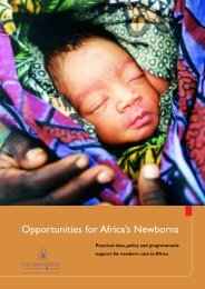Opportunities for Africa's Newborns - World Health Organization