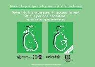 Soins liés à la grossesse, à l'accouchement et à la période ... - UNSCN