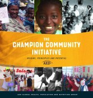 Champion Community INITIATIVE - FHI 360 Center for Global ...