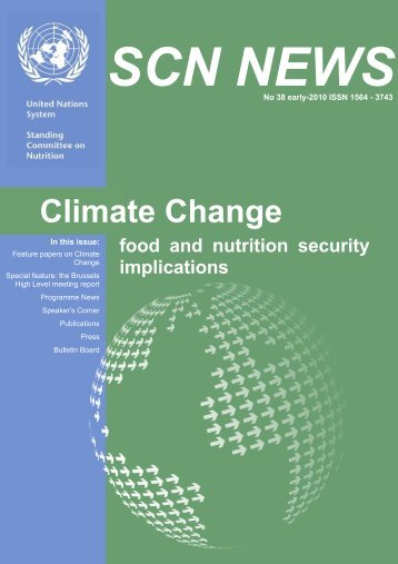 Climate Change: Food and Nutrition Security Implications - UNSCN