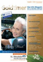 Ausgabe 1/2013 - St. Wendeler Volksbank eG