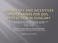 Voluntary and incentives programmes for soil ... - Unser Boden