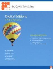 Digital Editions