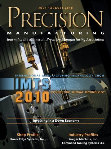 Journal of the Minnesota Precision Manufacturing Association