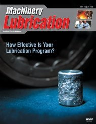 Machinery Lubrication July August 2008