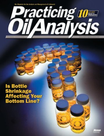 Establishing effective, user-friendly oil sampling procedures