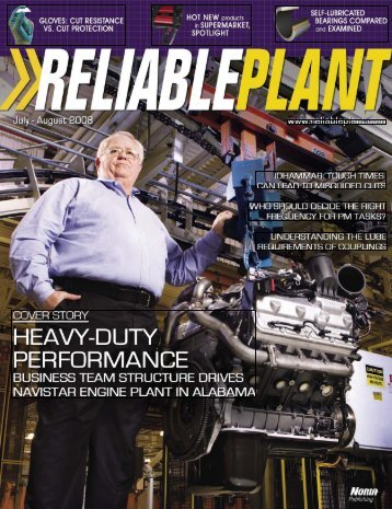 Reliable Plant July August 2008