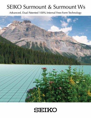 Download Brochure (PDF) - Seiko Optical Products, Inc.