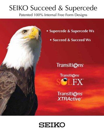 SEIKO Succeed & Supercede - Robertson Optical Laboratories
