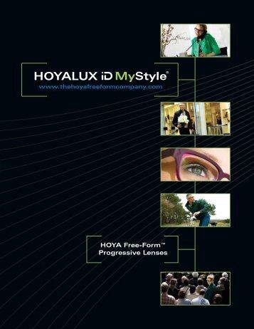 HOYA Free-Form™ Progressive Lenses - Robertson Optical ...