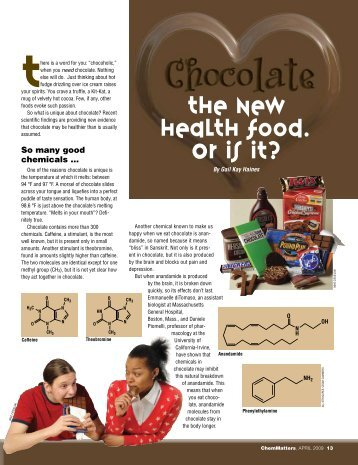 so many good chemicals … - American Chemical Society