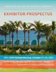 Exhibitor ProsPEctus - ACCP