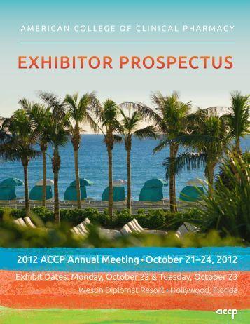 exhibitor prospectus template - exhibitor prospectus american burn association