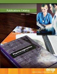 Publications Catalog - ACCP