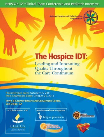 The Hospice IDT: - California State Hospice Association